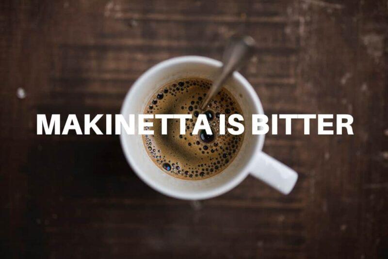 マキネッタで淹れるコーヒーは苦い。おすすめの飲み方をご紹介。