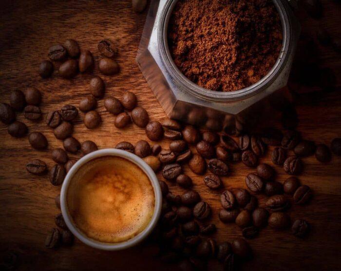 マキネッタで淹れるカフェラテのレシピ