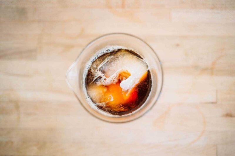 マキネッタで淹れるアイスコーヒー(アイスアメリカーノ風)のレシピ